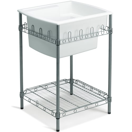 Sterling 996 Latitude 25' Utility Sink with Stand