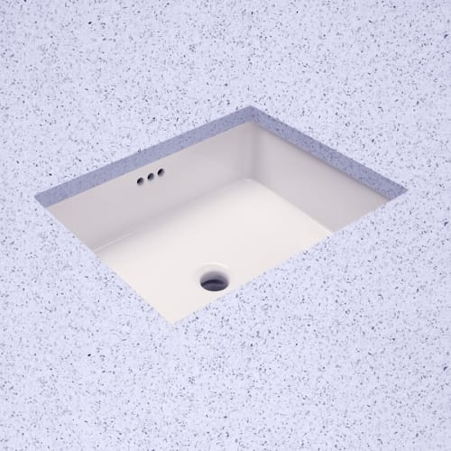 ProFlo PF1713U 19-7/8' Undermount Bathroom Sink with Overflow