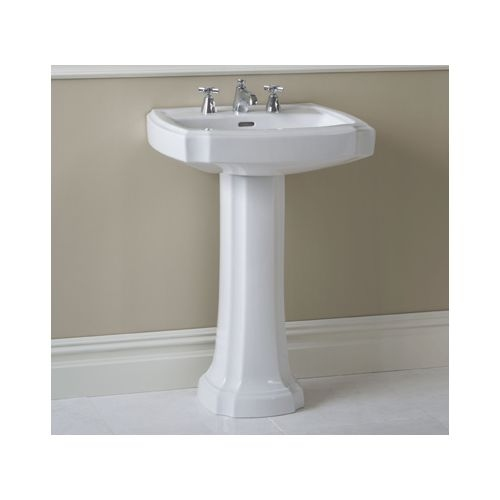 Toto PT970 Lavatory Pedestal Only for Toto Guinevere Lavatory Basins from the Profile Collection