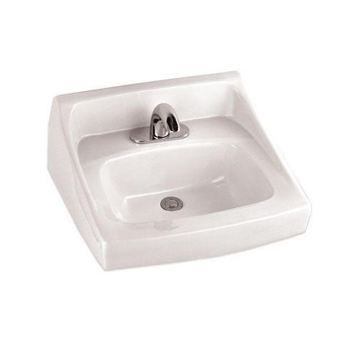 Toto LT307.8 Reliance Commercial 21' Wall Mounted Bathroom Sink with 3 Faucet Holes Drilled and Overflow