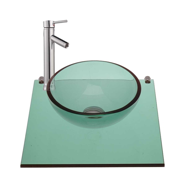 Children Washing Wall Mount Mini Glass Sink Faucet In | Renovator's Supply - Renovator's Supply