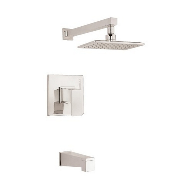 Danze 1H Trim TandS Mid-town Lever Handle 2.5 Gpm Brushed Nickel Showerhead - Brushed Nickel