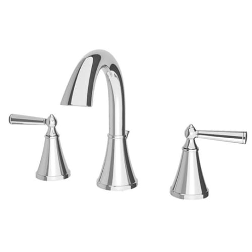 Pfister LG49-GL0 Saxton 1.2 GPM Widespread Bathroom Faucet with Metal Pop-Up Assembly