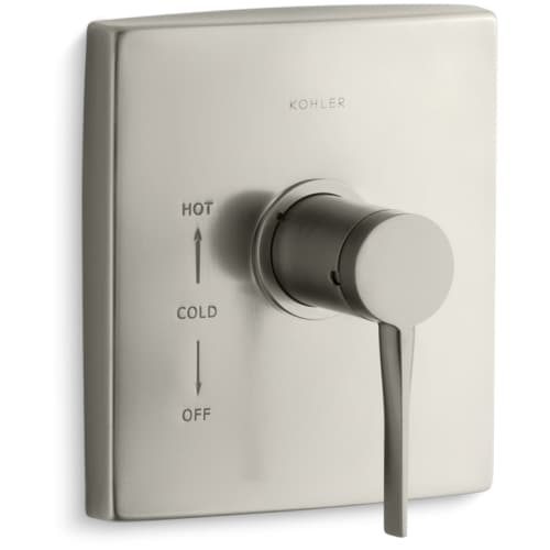 Kohler K-TS14780-4 Single Handle Rite-Temp Valve Trim from the Stance Collection