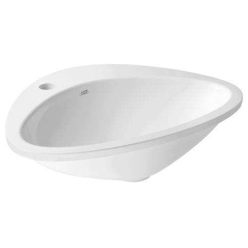 Axor 42310 Massaud 23' Oval Vessel Sink with Single Faucet Hole- Less Drain