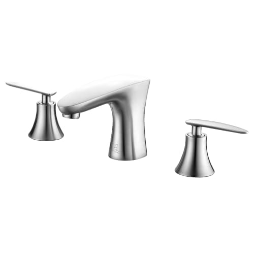 Anzzi L-AZ024 Chord Widespread 1.5 GPM Bathroom Faucet - Chrome Finish