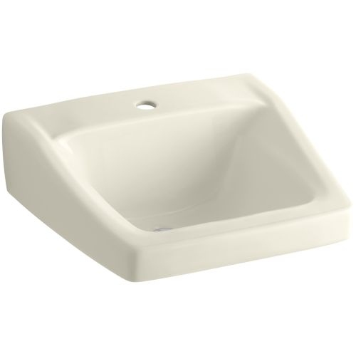 Kohler K-1721 Chesapeake 21' Wall Mounted Bathroom Sink with 1 Hole Drilled and Overflow