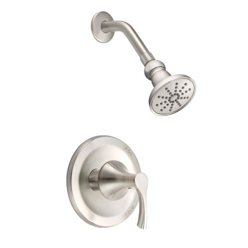 Danze D500522T Pressure Balanced Shower Trim Package with Single Function Shower Head From the Antioch Collection (Less Valve)