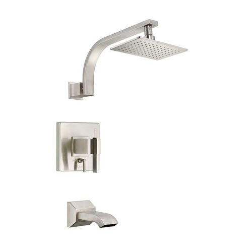 Danze D511044T Sirius Tub and Shower Trim with Lever Handle - Less Valve - Chrome Finish