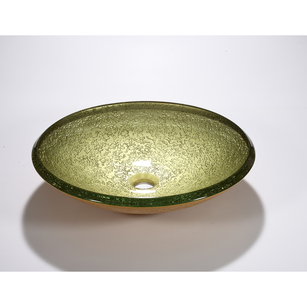 Legion Furniture Lime Yellow Bowl Vessel Sink - ZA-243