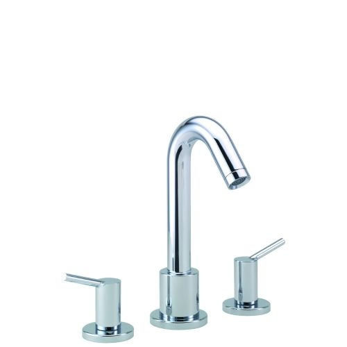 Hansgrohe 32313 Talis S Roman Tub Filler Faucet Non Diverter with Metal Lever Handles Less Valve