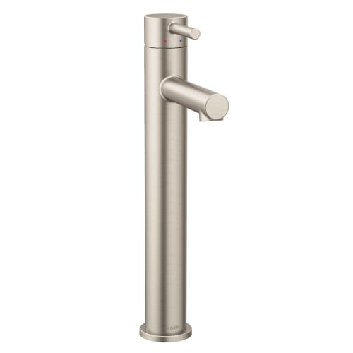 Moen 6192 Single Handle Single Hole Bathroom Faucet from the Align Collection (Valve Included)