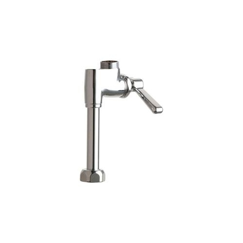 Chicago Faucets 613-ALESAB Deck Mounted Pot Filler Faucet with Lever Handle - Less Spout