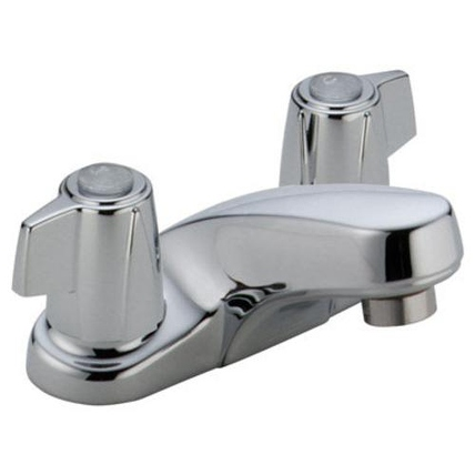 Delta 2500LF Two Handle Low Lead Lavatory Faucet, 4' Centers