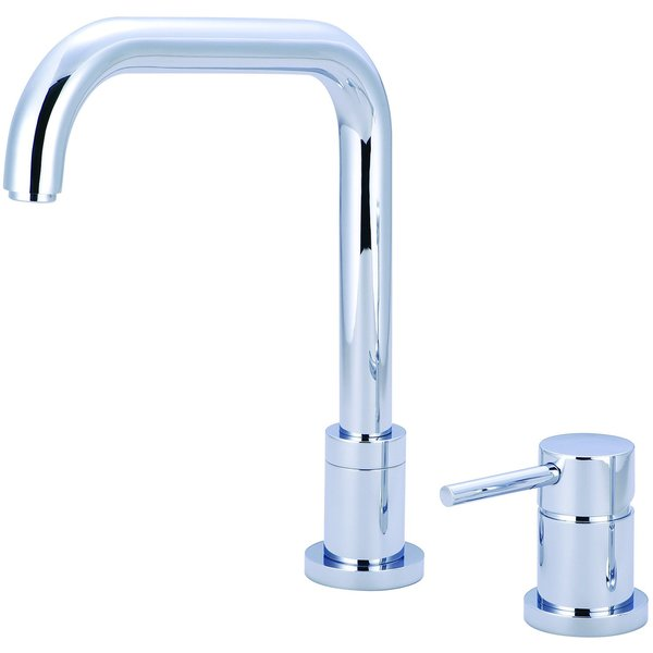 Pioneer Motegi Series Single Handle Kitchen Faucet - PVD Polished Chrome Finish