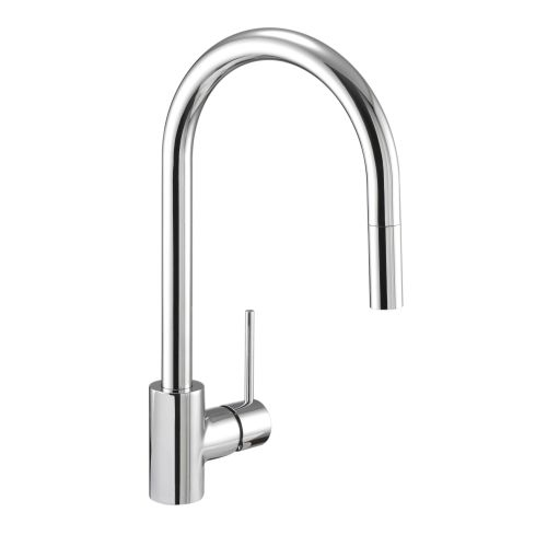 Danze DH450177 Pull Down Spray Kitchen Faucet From the Citron Collection - Stainless Steel Finish