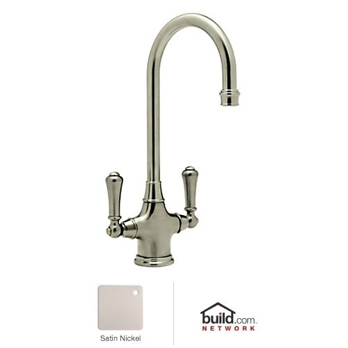 Rohl U.4711-2 Perrin and Rowe Bar Faucet with Metal Lever Handles