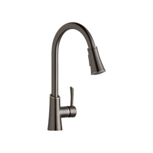 Elkay LKGT3031 Gourmet Pullout Spray Single Handle Kitchen Faucet