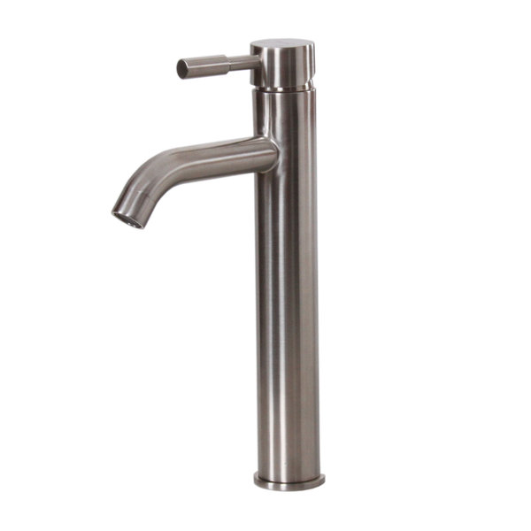 Elite F371023SN Satin Nickel Single-handle Bathroom Faucet - Satin nickel