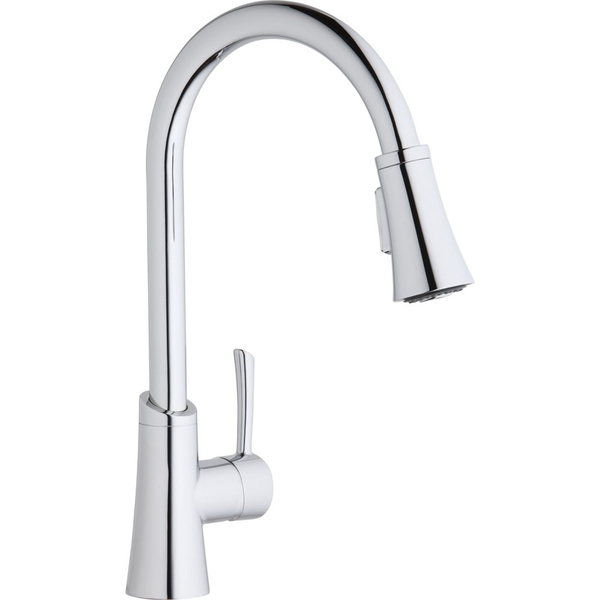 Elkay Gourmet Pull-Down Kitchen Faucet - Chrome
