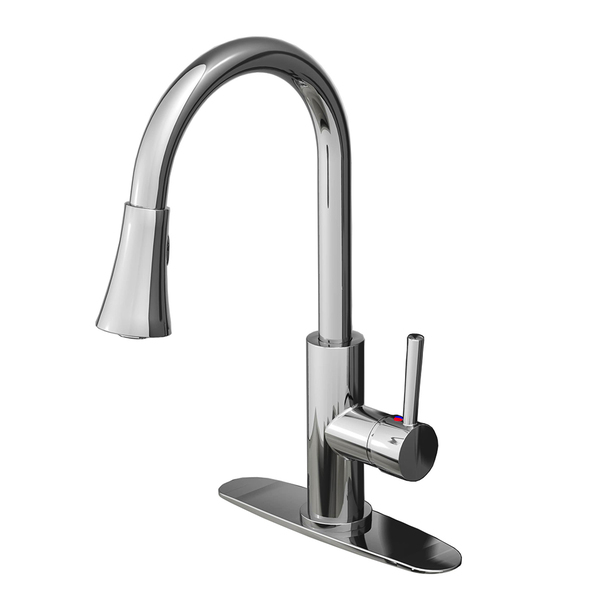 Fontaine Avanzato Chrome 1-Handle Kitchen Faucet - Chrome