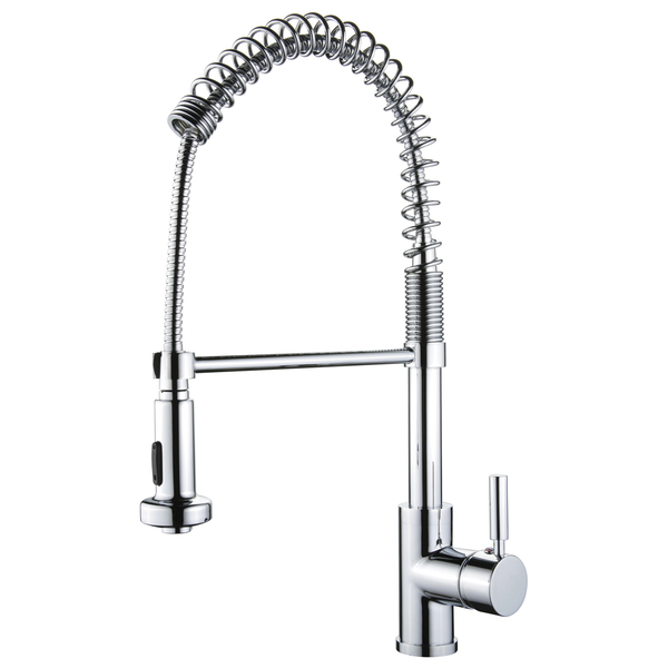 Yosemite Home Decor Chrome Single-handle Faucet with 2 Feet Flexible Hose - Single Handle Faucet with 2 feet flexible hose