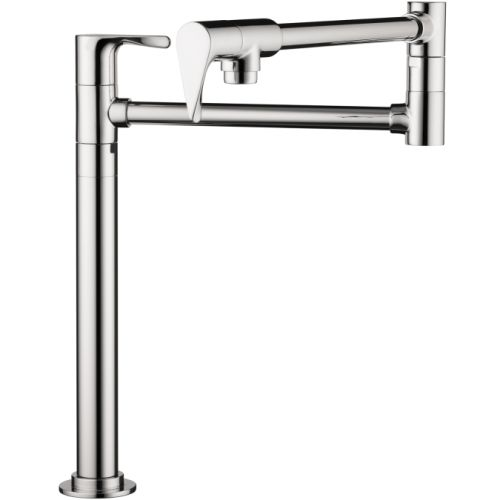 Axor 39838 Citterio Deck Mounted Double-Jointed Pot Filler - Includes Lifetime Warranty