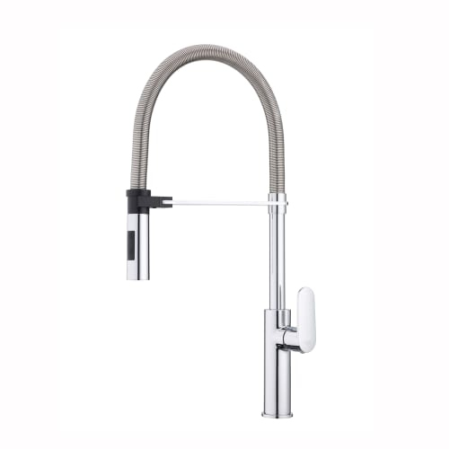 WS Bath Collections Candy CA 179 Candy Single Handle Pre-Rinse Kitchen Faucet with Swivel Spout