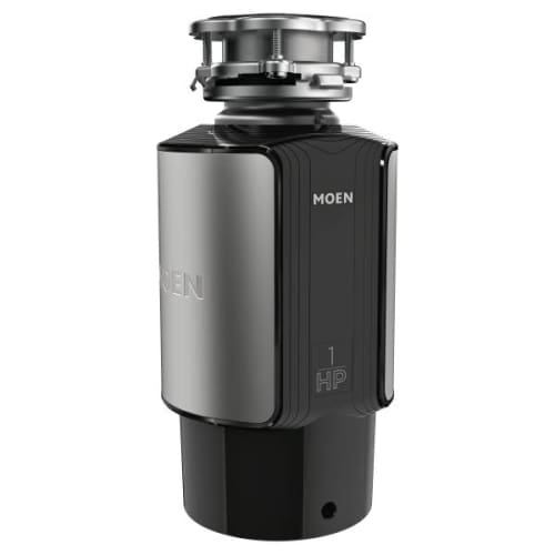Moen GX100C GX 1 HP Continuous Garbage Disposal with SoundSHIELD Technology, Vortex Motor and Power cord included.