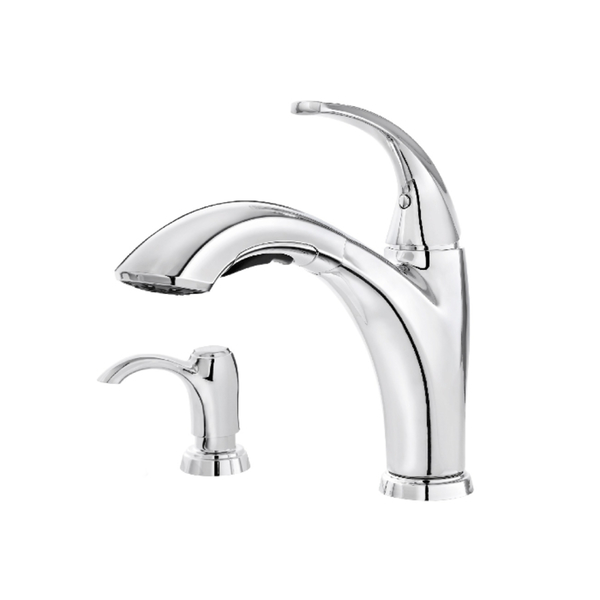 Pfister Selia 1-handle Pull-out Kitchen Faucet Polished Chrome - Polished Chrome