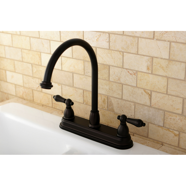 High Spout 2-handle Kitchen Faucet - High Spout 2-handles Kitchen Faucet