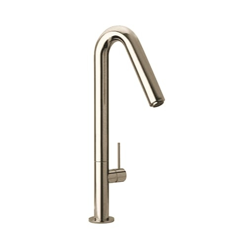 Fortis 7859300 Modern Single Handle Kitchen Faucet with Angled Spout