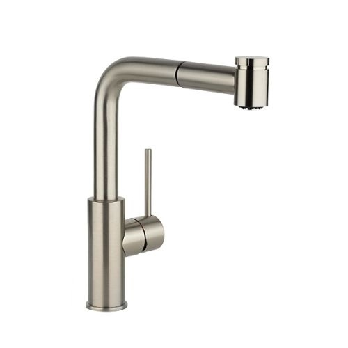 Elkay LKHA3041 Echo 12' Single Handle Kitchen Faucet with Pull Out Spray