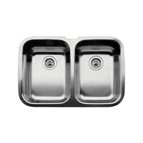 Blanco 440224 Supreme Equal Double Basin Stainless Steel Kitchen Sink 32' x 20 7/8'
