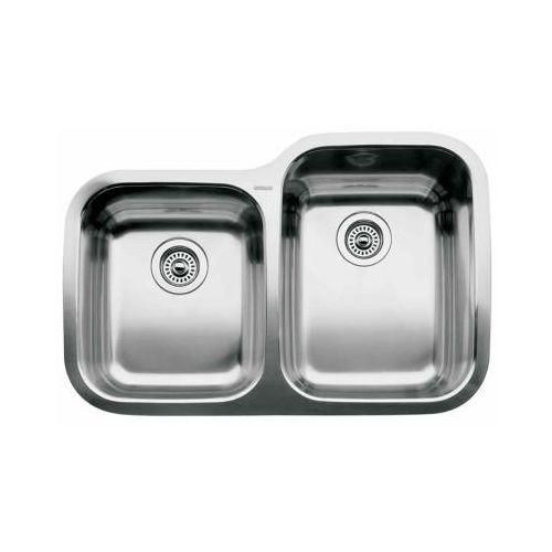Blanco 440235 Supreme 1-3/4 Basin Reverse Drop In Stainless Steel Kitchen Sink 31 5/16' x 20 7/8'