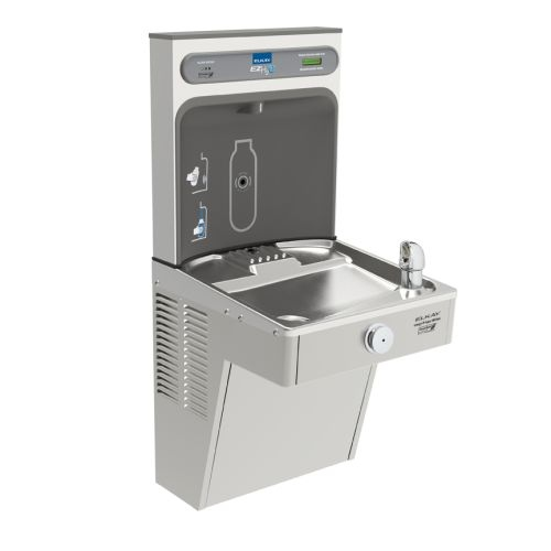 Elkay LVRCGRN8WSK EZH2O Filtered LVRCGRN Cooler and Bottle Filling Station