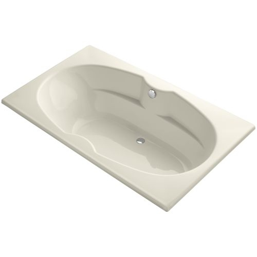 Kohler K-1132 Proflex Collection 72' Drop In Soaking Bath Tub with Center Drain