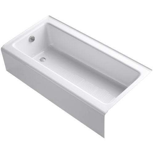 Kohler K-837 Bellwether 60' Alcove Soaking Tub with Left Drain