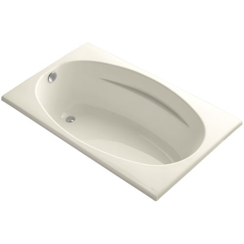 Kohler K-1142 Proflex Collection 60' Drop In Soaking Bath Tub with Reversible Drain